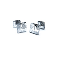 cufflinks with silver - grey