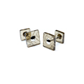 cufflinks - brown 3mm
